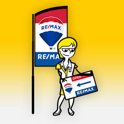 RE/MAX Real Estate Display Products